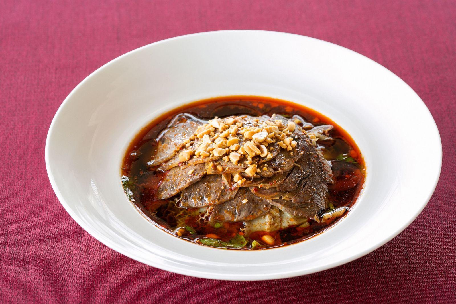 Ambassador Hotel Kaohsiung Szechuan Court Sliced Beef