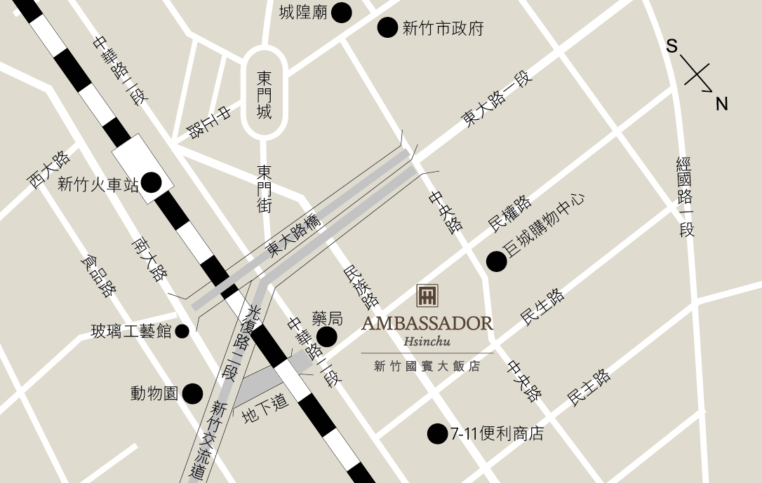 hsinchu-location-map