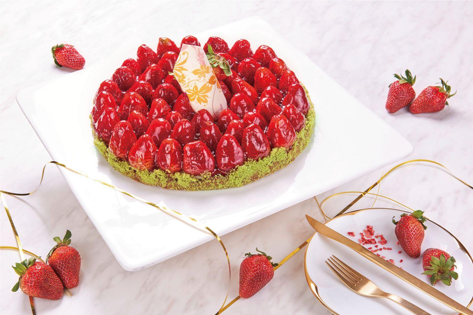 【愛戀草莓季】摘星茶廊