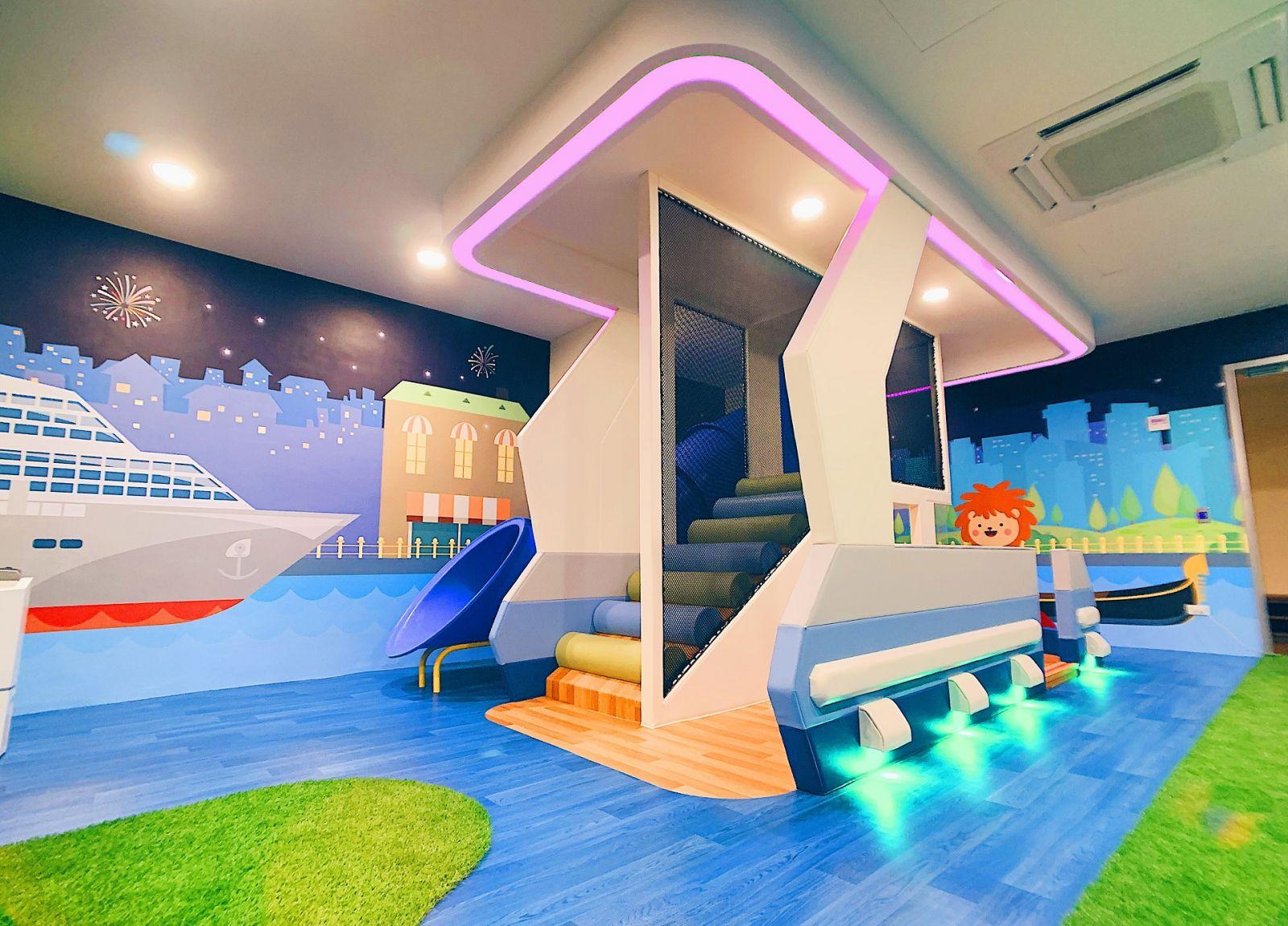 全新打造B1F兒童遊戲室正式開放