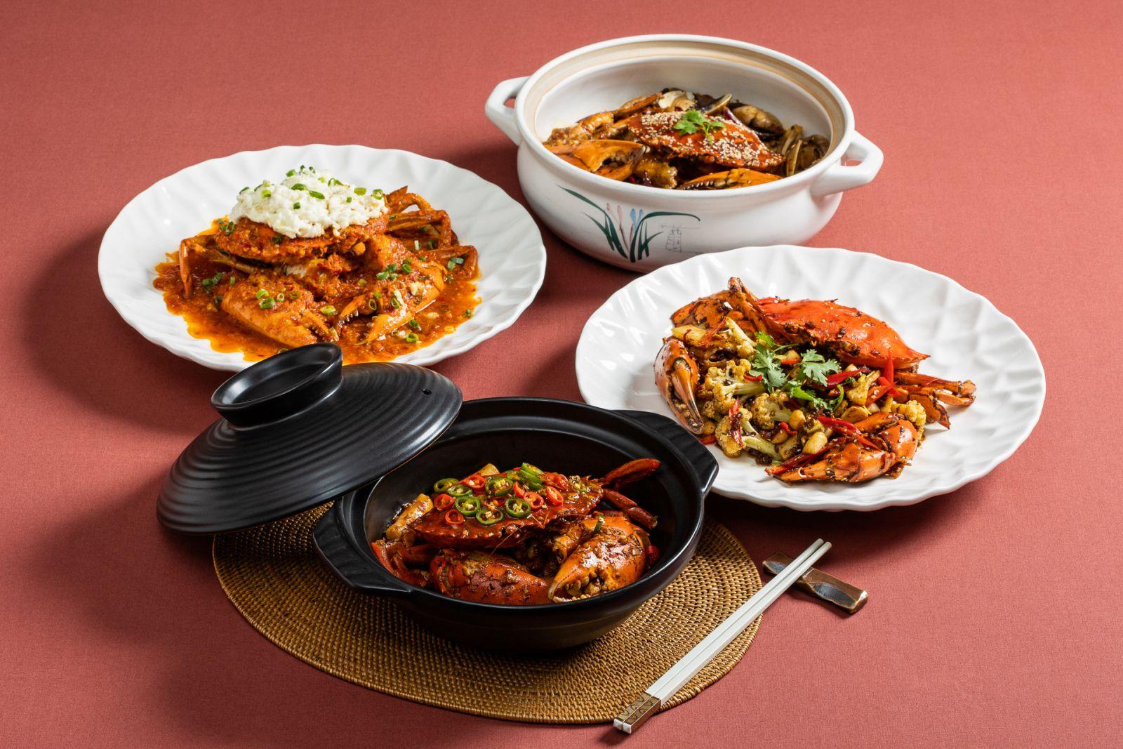 【國賓川菜廳】大啖秋蟹趁現在!國賓川菜廳獨家六種吃法新上市