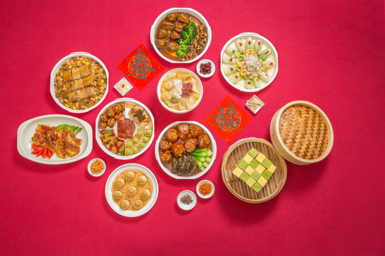 【外帶年菜】台北國賓玉犬呈祥展宏猷 精選外帶年菜與年節禮盒