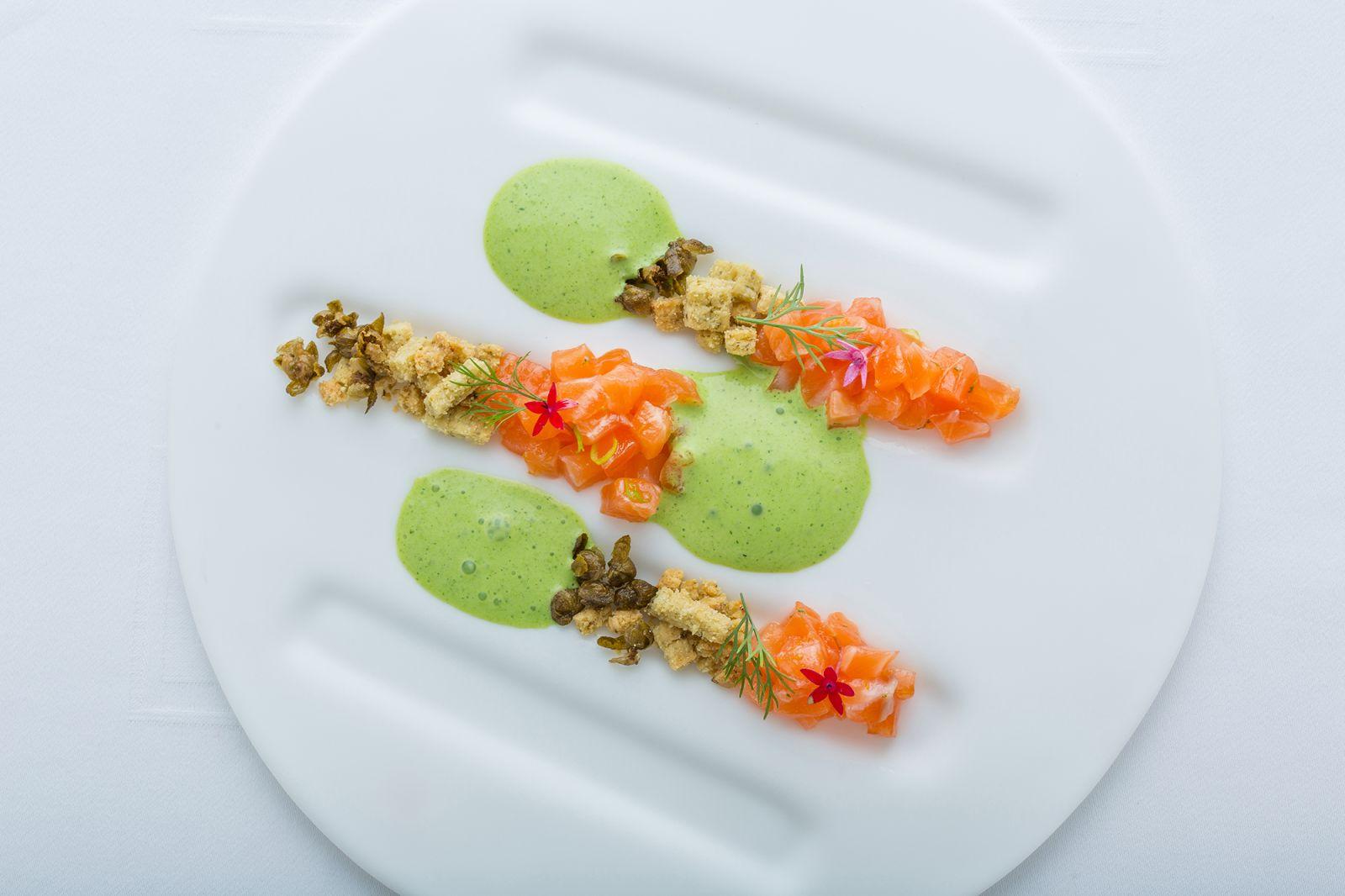 台北國賓A CUT醃漬香料鮭魚