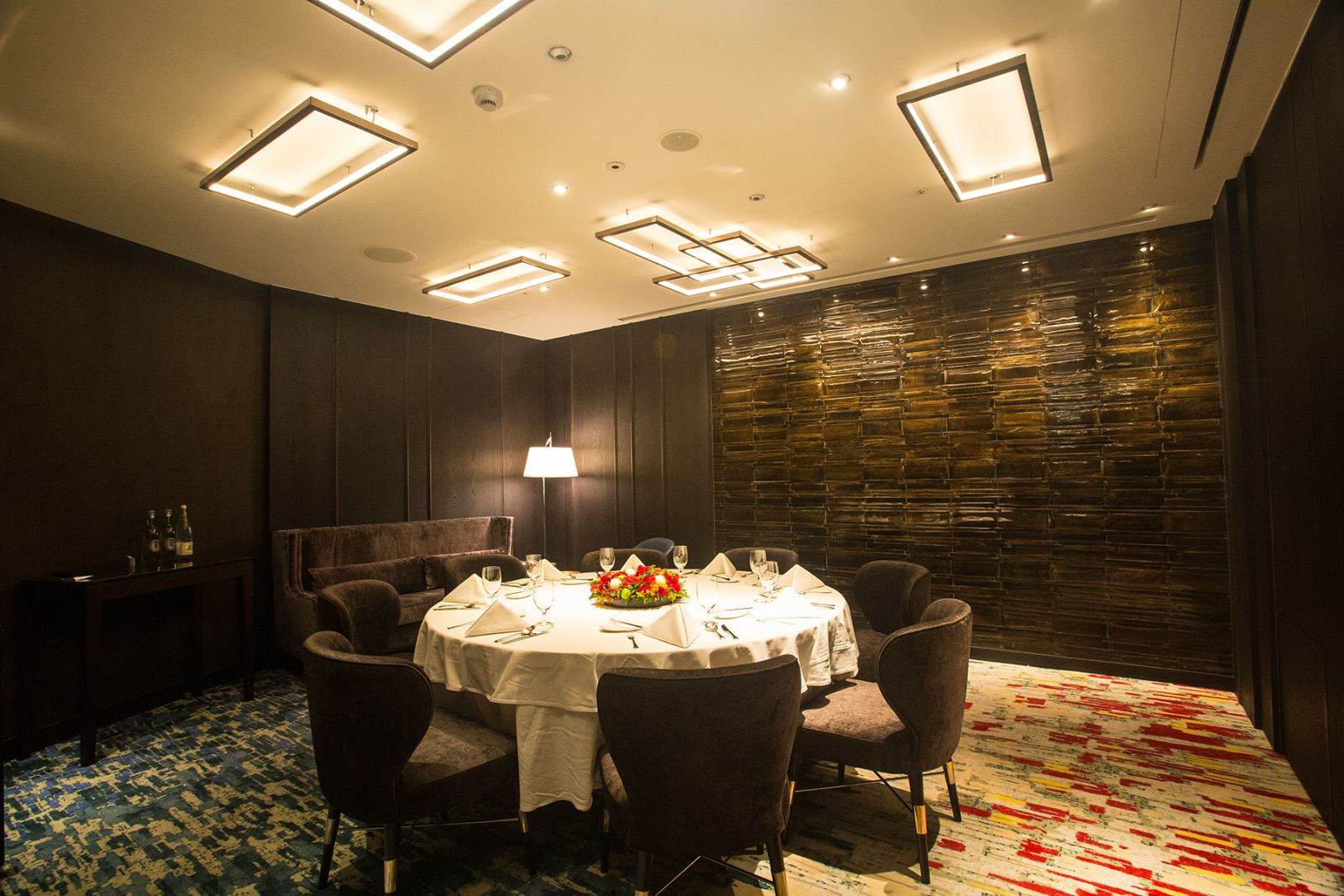 Ambassador Hotel Taipei A CUT STEAKHOUSE Private Dining Lounge