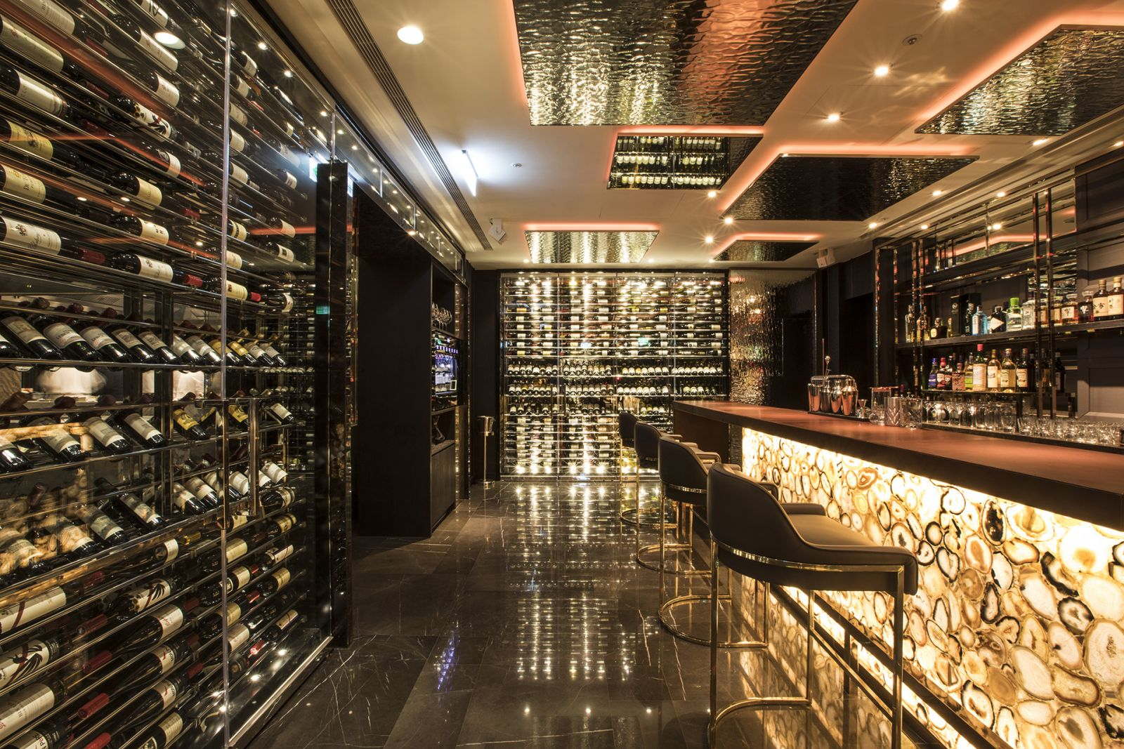 Ambassador Hotel Taipei A CUT STEAKHOUSE Wine Cellar