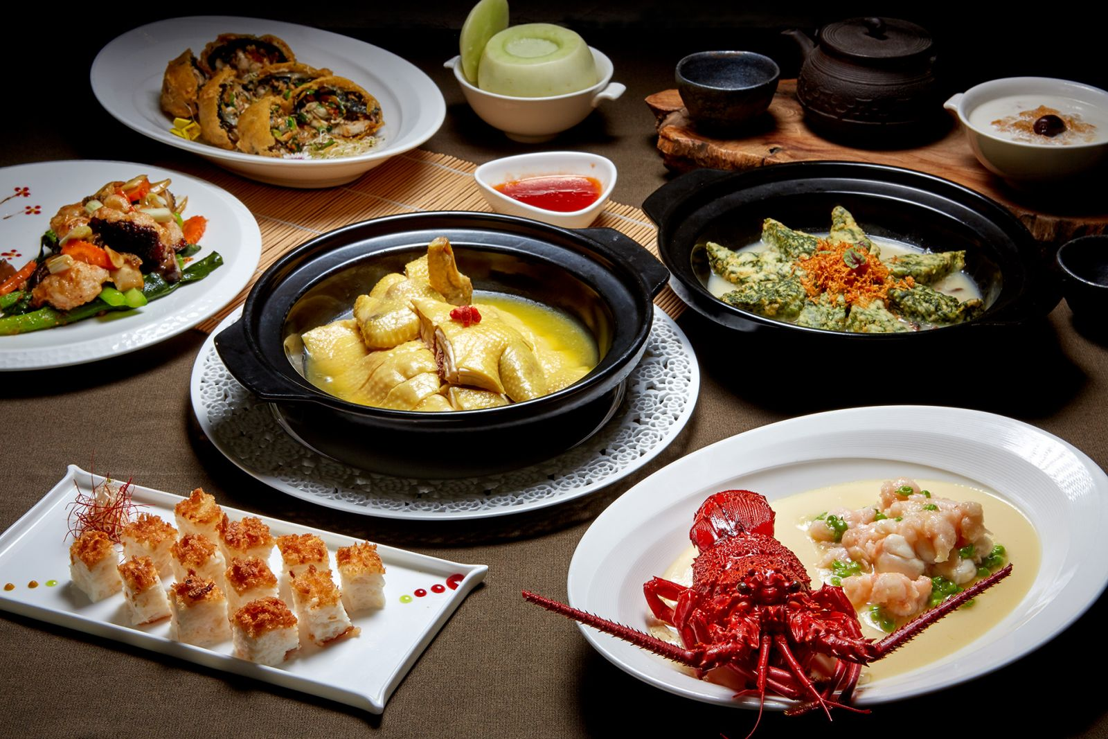 【國賓粵菜廳】「香菇韭香鮮蚵餅」粵菜有台味 「國賓粵菜廳」推創新料理