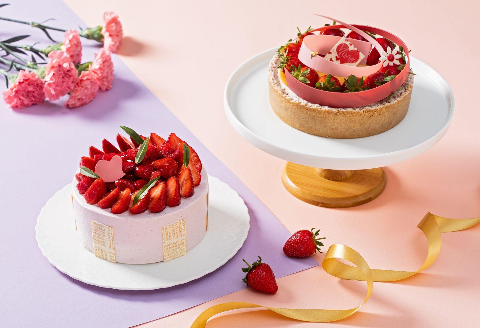 【國賓麵包房】寵愛媽媽超前部屬 台北國賓母親節蛋糕開始預購