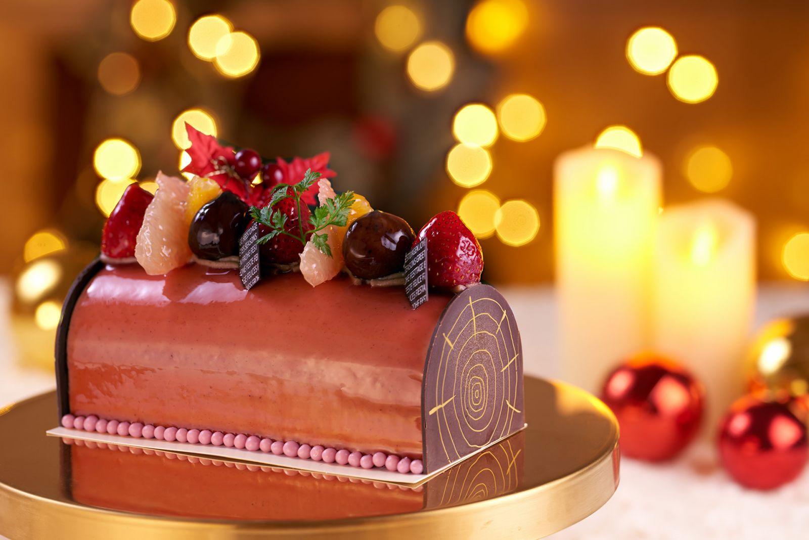 【國賓麵包房】年末買個蛋糕獎「栗」自己! 國賓推聖誕栗子水果蛋糕