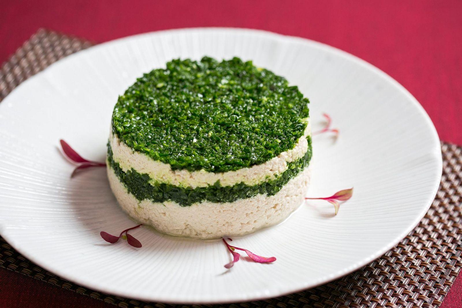台北國賓大飯店川菜廳小蔥豆腐
