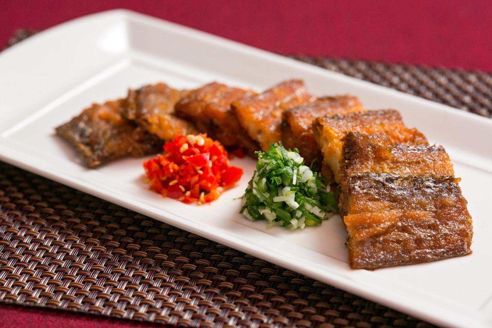 台北國賓大飯店川菜廳秘製白帶魚