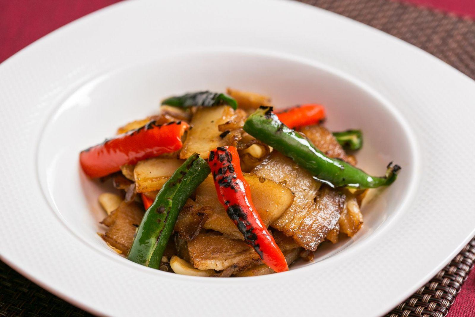 台北國賓大飯店川菜廳農家小炒肉