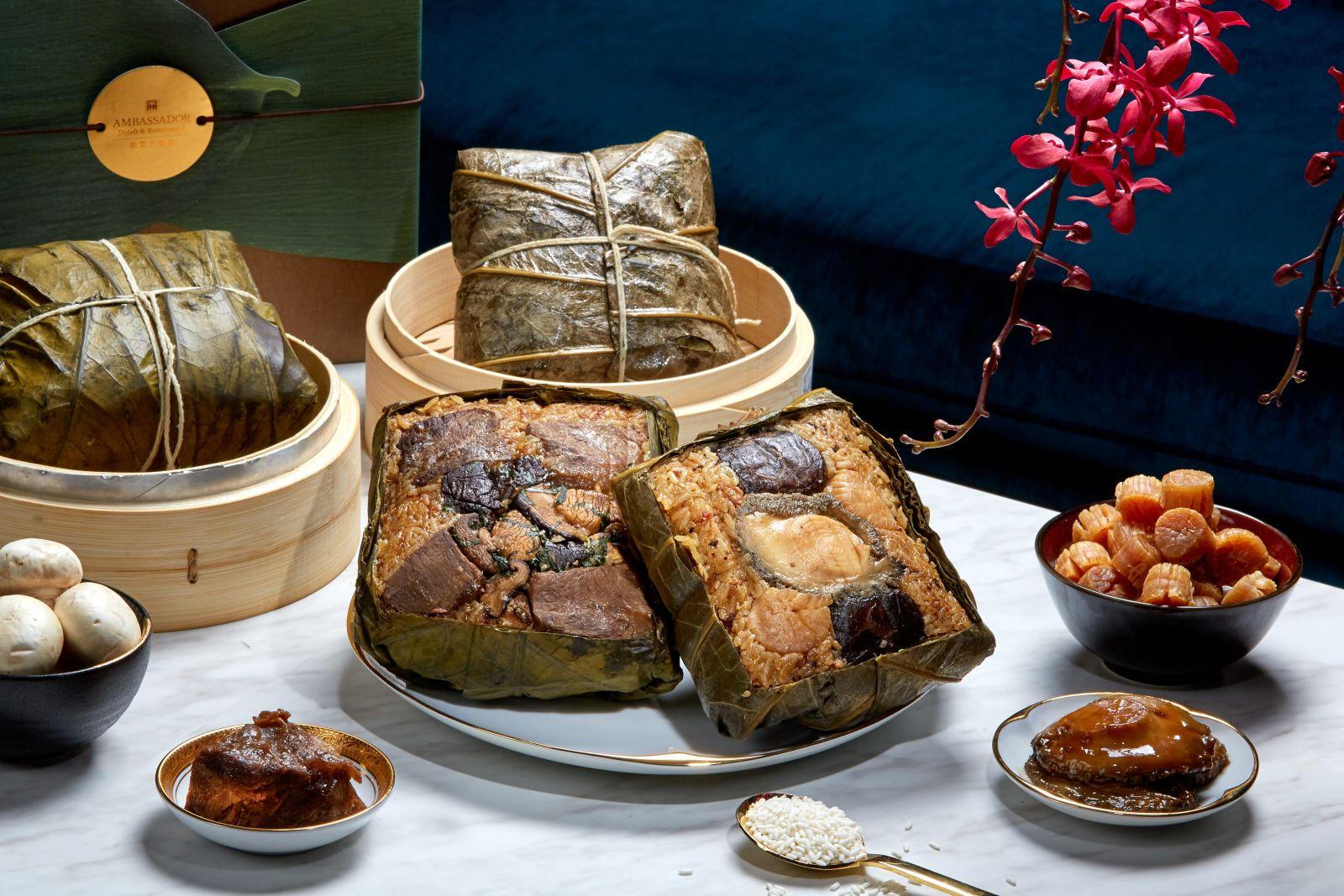 【端午獻禮】年銷近六萬顆的經典美味 台北國賓肉粽禮盒榮耀登場
