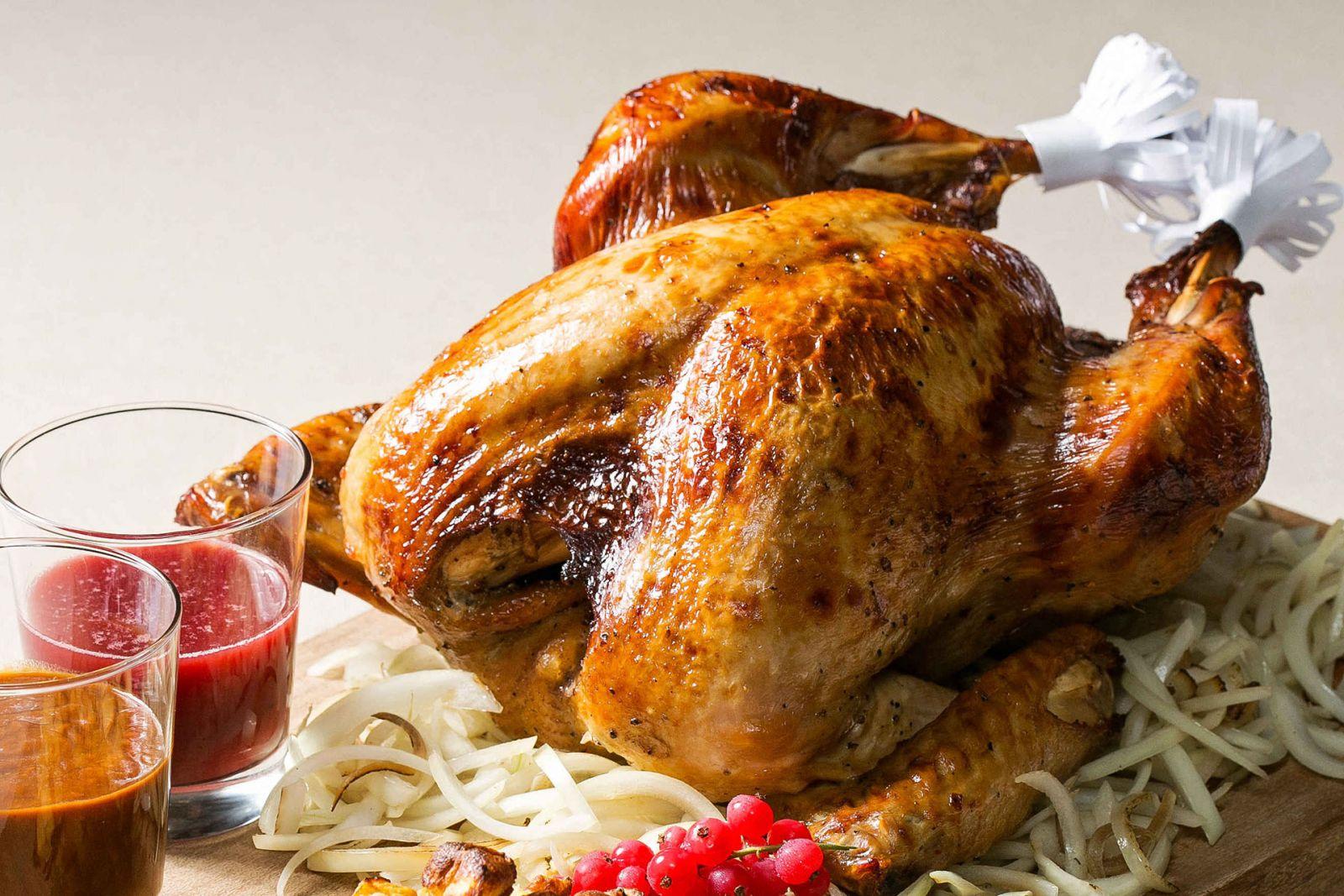 【感恩節】美式經典烤火雞禮籃 道地美式風味