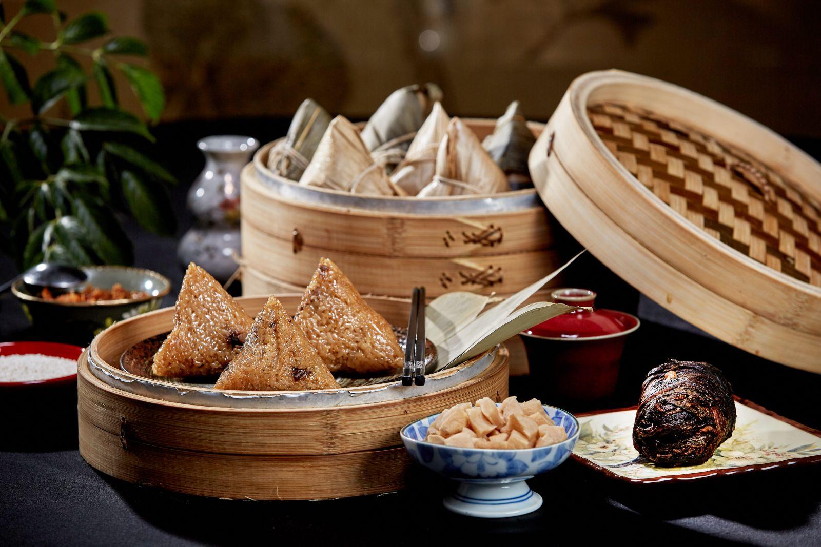 年賣破4萬顆肉粽 「粽子王」國賓推四粽三禮盒