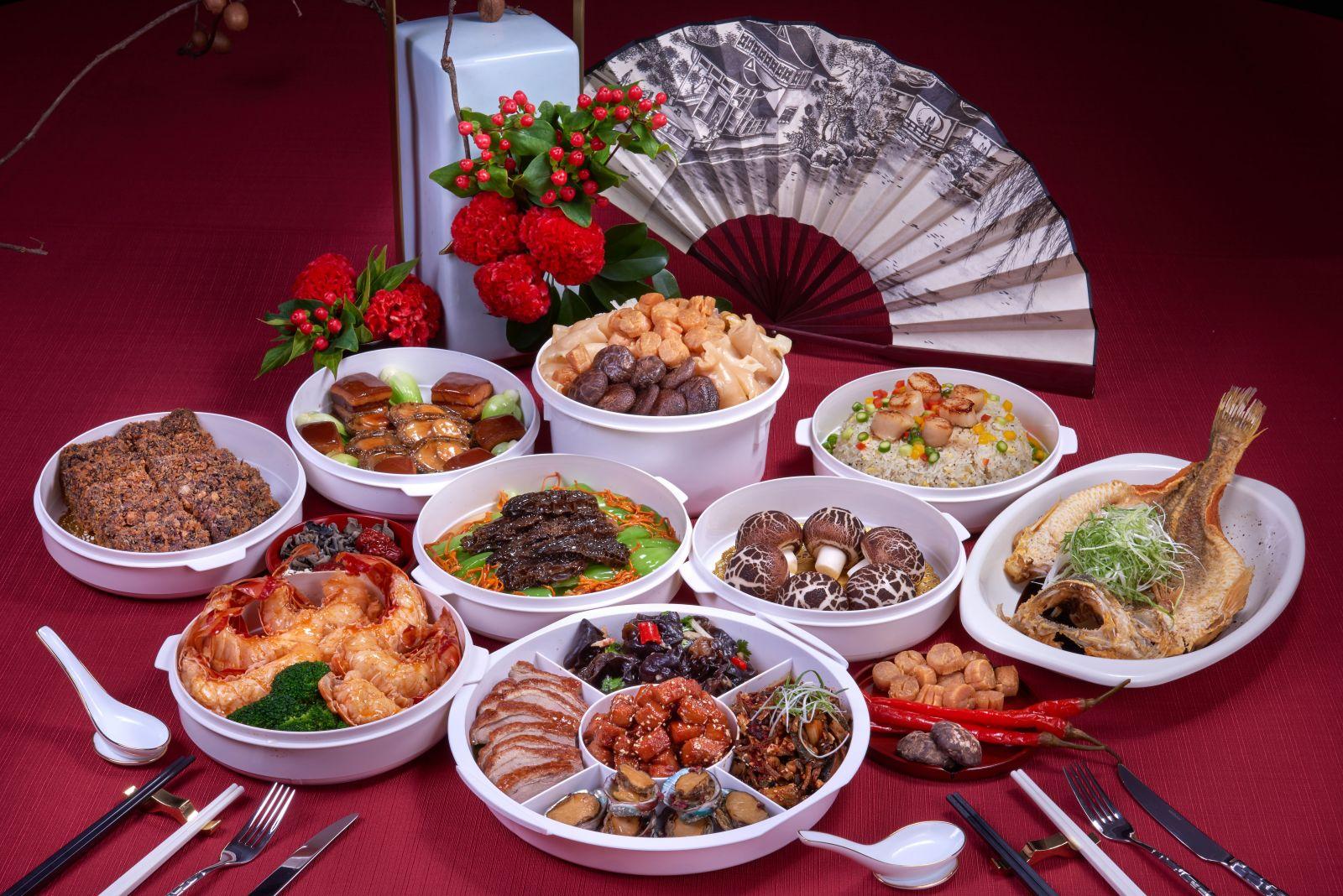 【年菜外帶】「鼠」不盡的山珍海味 台北國賓推2套年菜21道單點經典