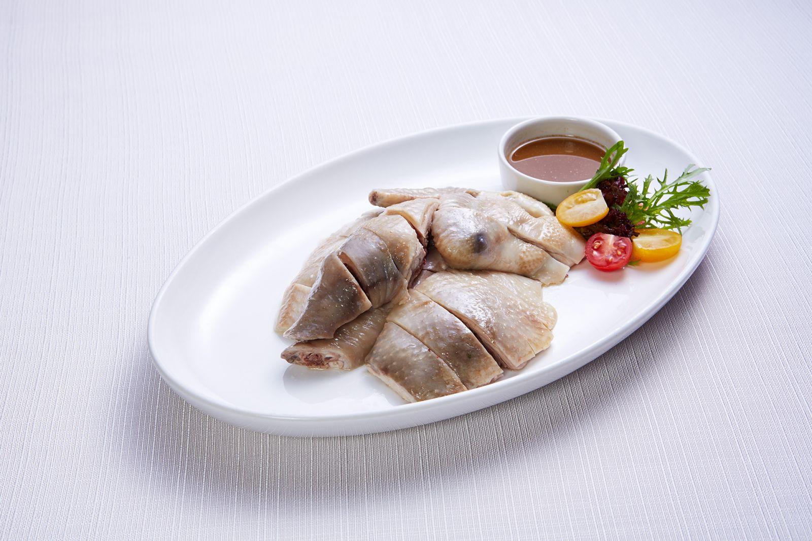 高雄國賓大飯店粵菜廳東江鹽焗雞