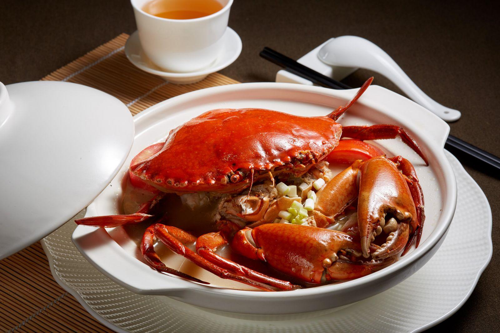 高雄國賓大飯店粵菜廳油鹽水銀蘿沙母