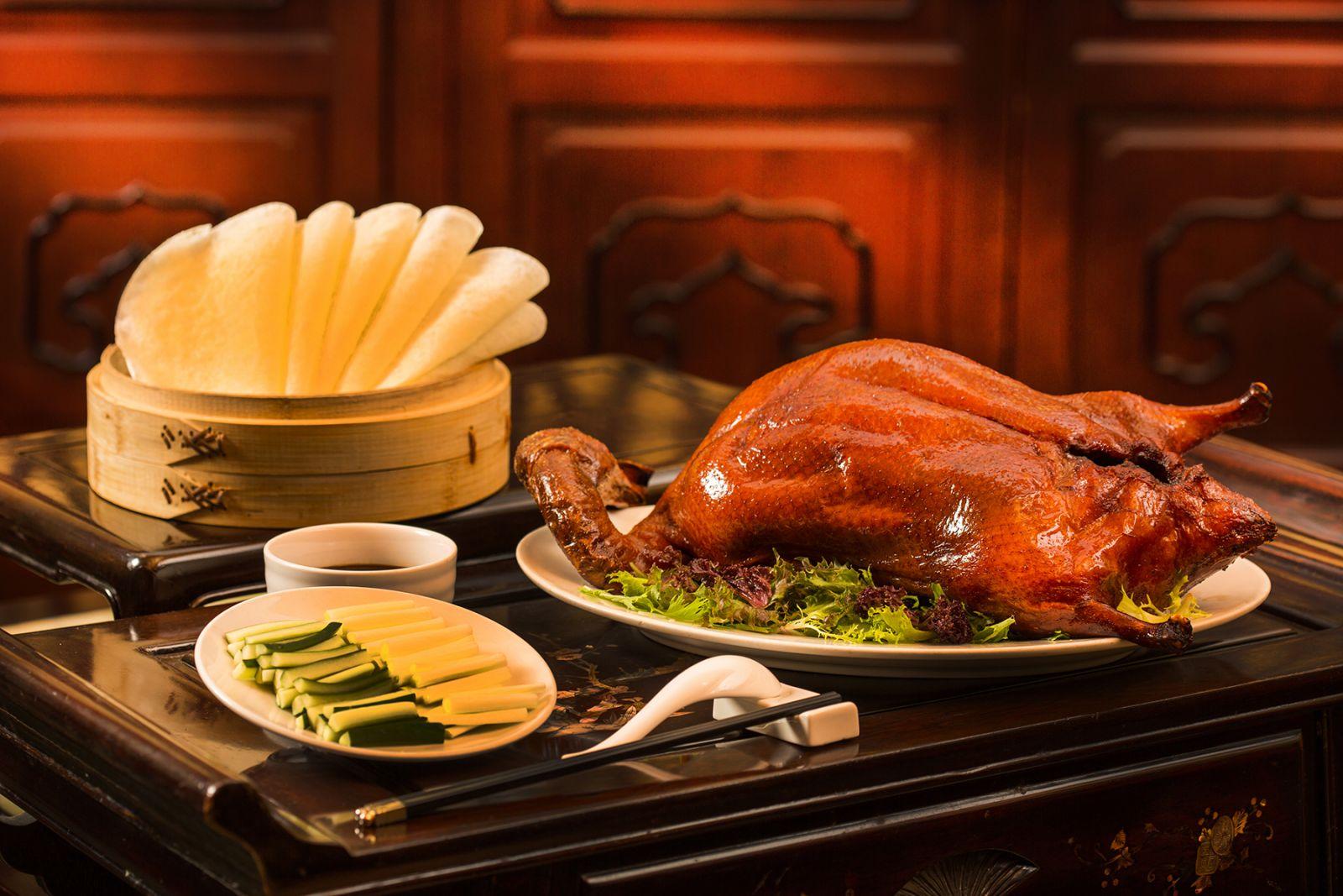 高雄國賓大飯店粵菜廳廣式片皮鴨