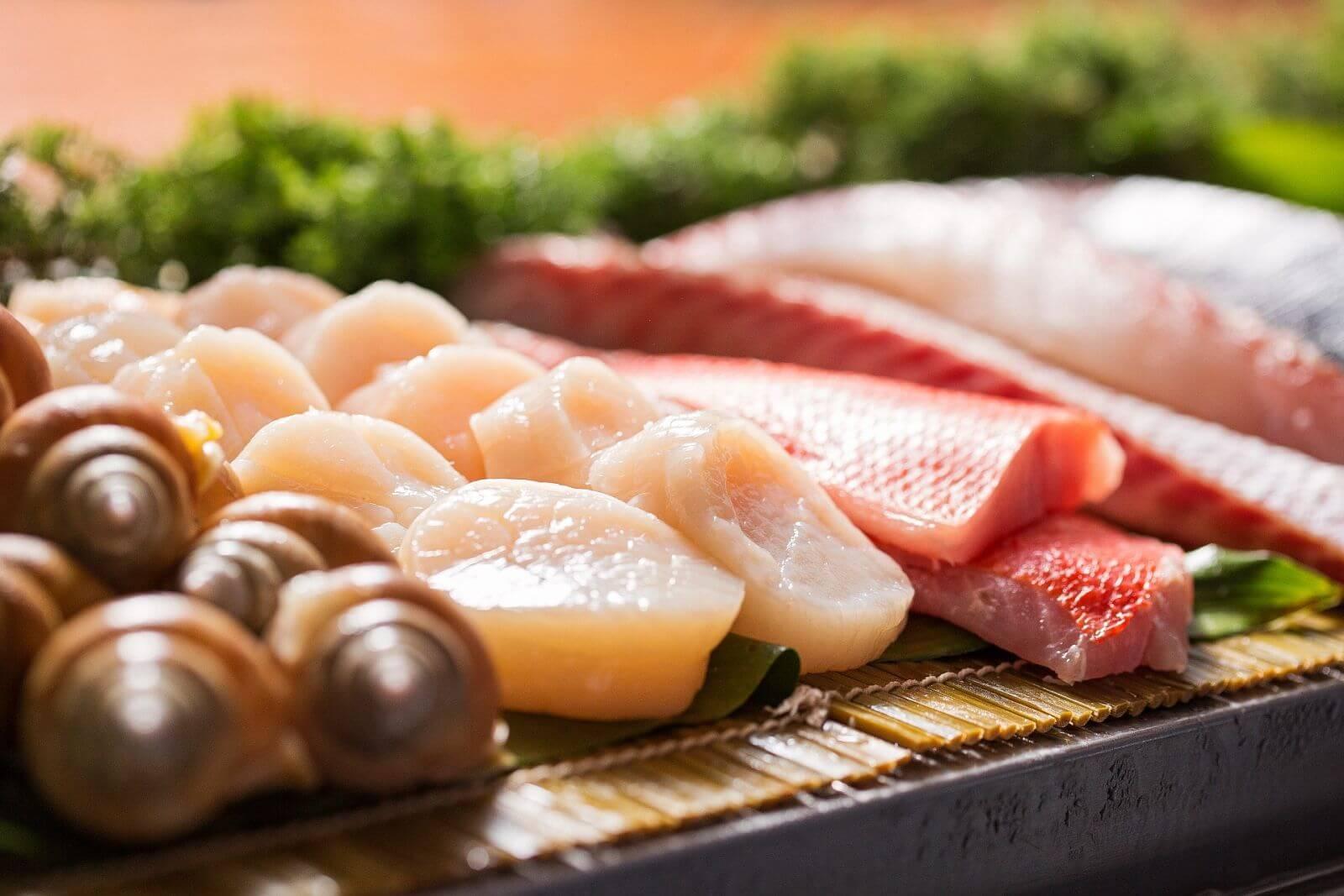 Premium quality sushi at YU SUSHI Landmark Club Taipei