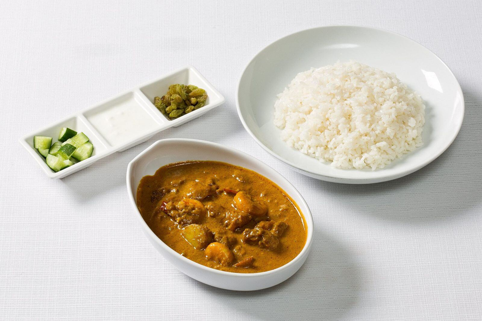 Ambassador Hotel Taipei Room Service Curry Rice with Chicken, Beef, or Seafood