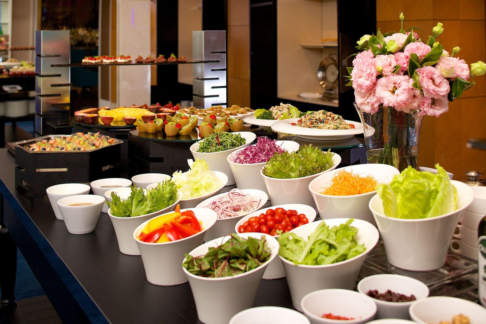 Ambassador Hotel Taipei Aqua Lounge Salad Bar