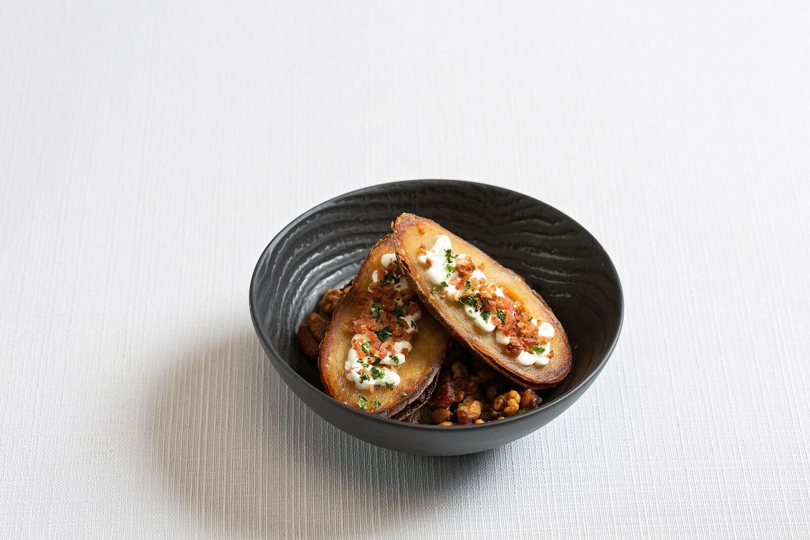 Ambassador Hotel Taipei Aqua Bar Crispy Potato Skins with Nuts