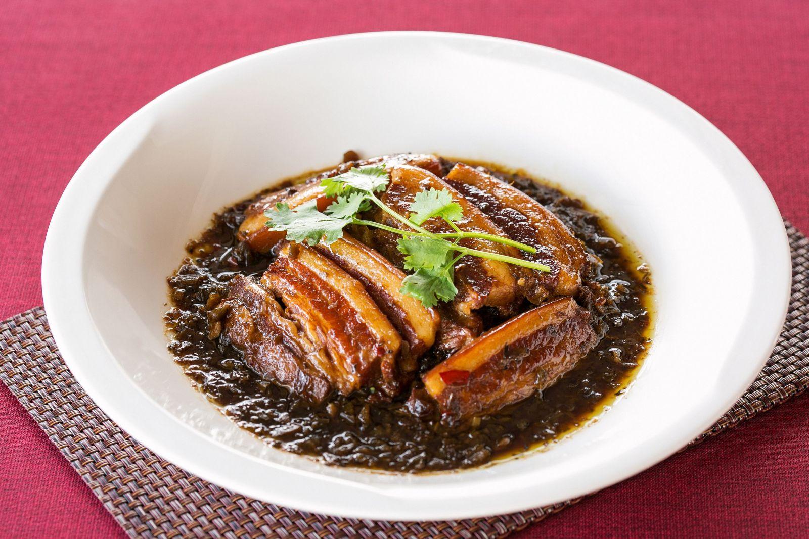 台北國賓大飯店川菜廳冬菜千層肉