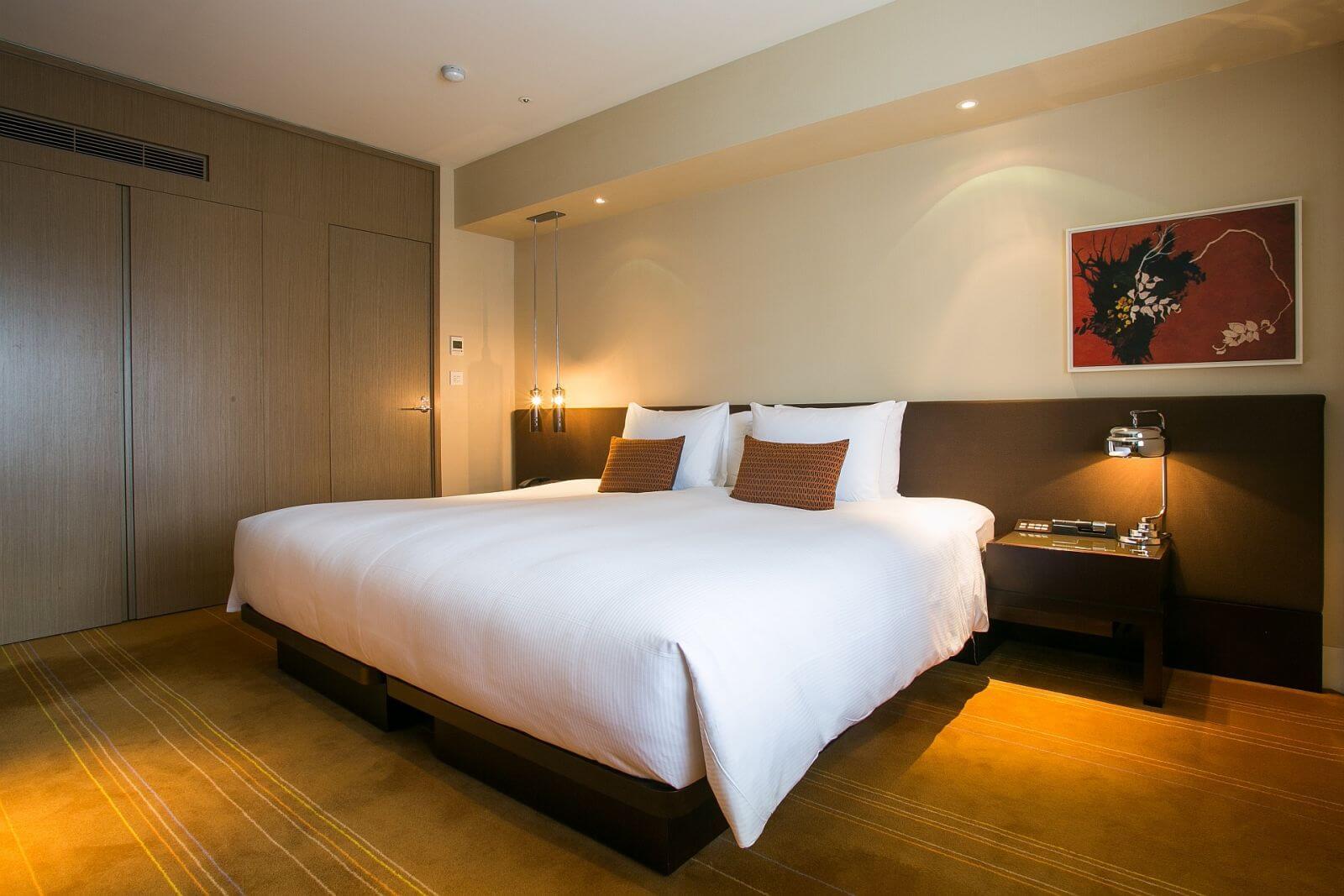 Ambassador Hotel Taipei Executive Business Suite Bedroom